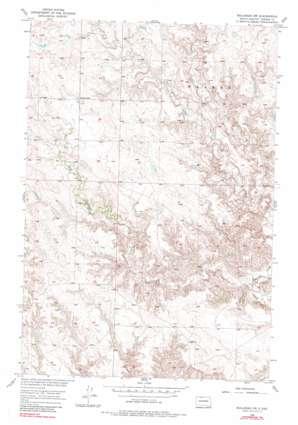 Bullhead Sw topo map