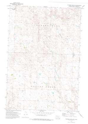 Thunder Hawk Sw topo map