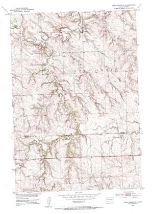 Deep Creek Se topo map