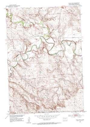 Faith Nw topo map