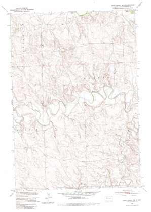 Deep Creek Ne topo map