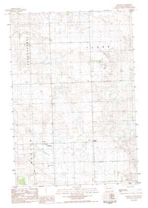 Meadow topo map