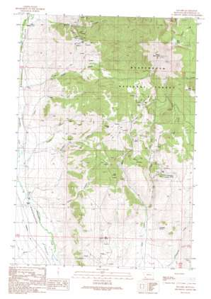 Polaris topo map