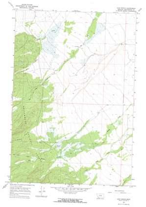 Ajax Ranch topo map