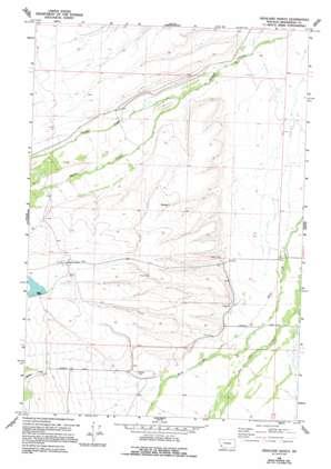 Highland Ranch topo map
