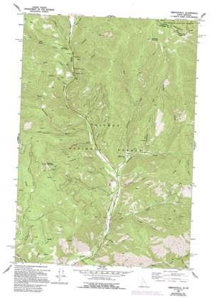 Gibbonsville topo map