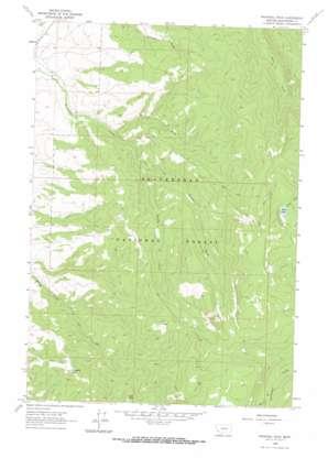 Proposal Rock topo map