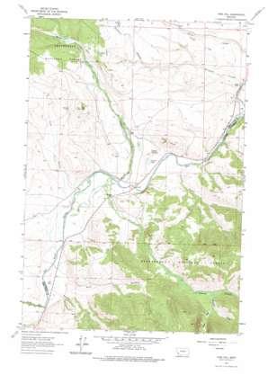 Pine Hill topo map