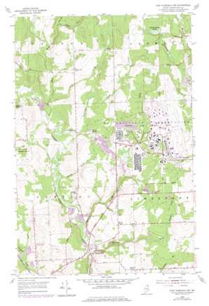 Fort Fairfield Nw topo map