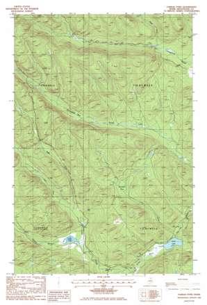 Farrar Pond topo map
