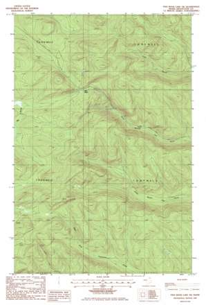 Fish River Lake Sw topo map