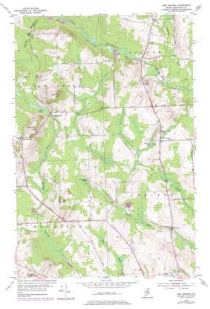 New Sweden topo map