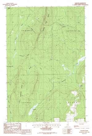 Hanford topo map