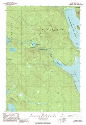 Tramway topo map