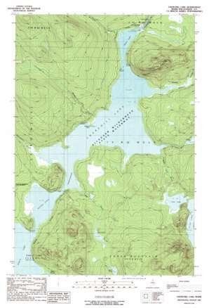 Churchill Lake USGS topographic map 46069d3