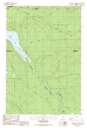 Umaskis Lake East topo map
