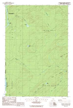Cunliffe Islands topo map