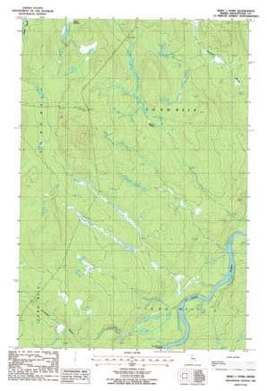 Maryl Pond topo map