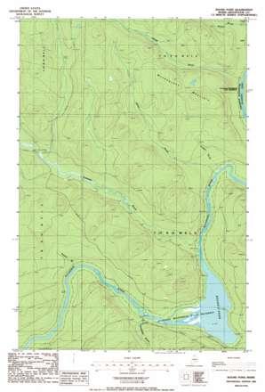 Round Pond topo map