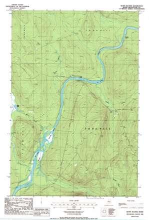 Seven Islands USGS topographic map 46069g5