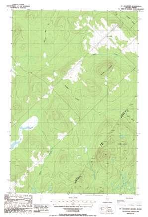 Saint Adalbert topo map