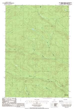 Mckinnon Brook USGS topographic map 46069h3