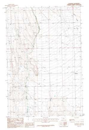 Rothiemay topo map