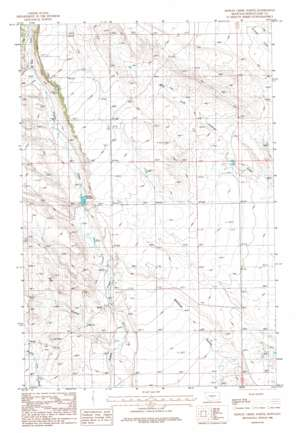 Hopley Creek North topo map