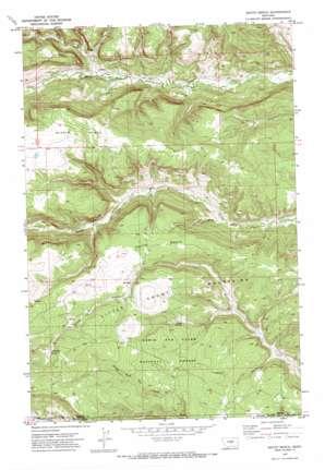 South Bench topo map
