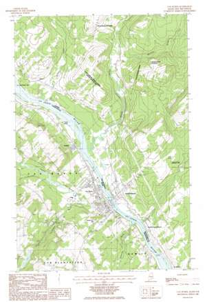 Van Buren topo map