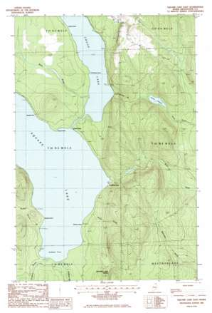 Square Lake East USGS topographic map 47068a3