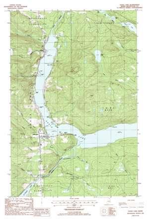 Eagle Lake USGS topographic map 47068a5