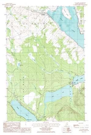 Saint Agatha USGS topographic map 47068b3