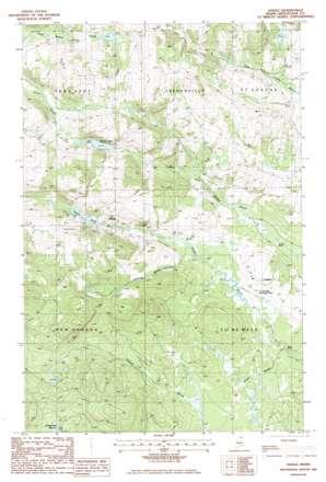 Daigle USGS topographic map 47068b4