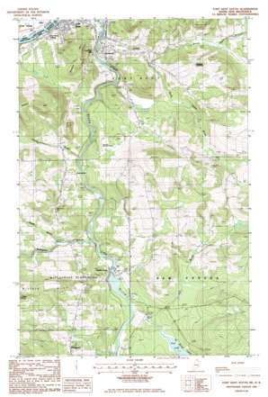 Fort Kent South USGS topographic map 47068b5