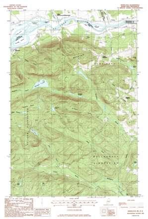 Wheelock USGS topographic map 47068b6