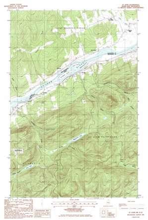 Saint John USGS topographic map 47068b7