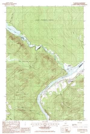 Saint Francis USGS topographic map 47068b8