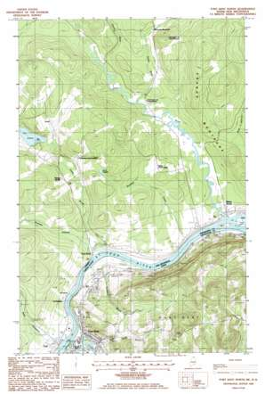 Fort Kent North USGS topographic map 47068c5