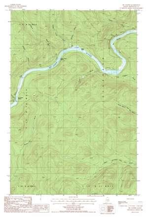 Big Rapids USGS topographic map 47069a2