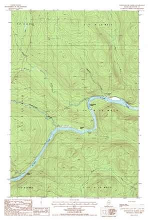 Schoolhouse Rapids topo map