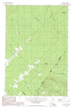 Saint Omer topo map
