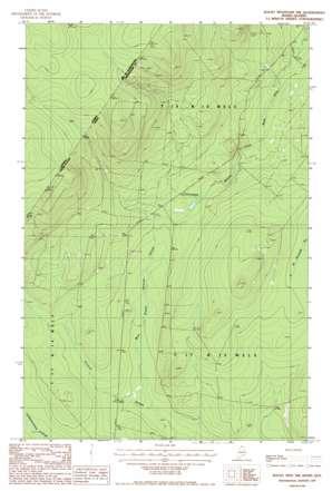 Rocky Mountain Nw topo map