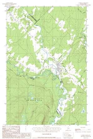 Landry topo map