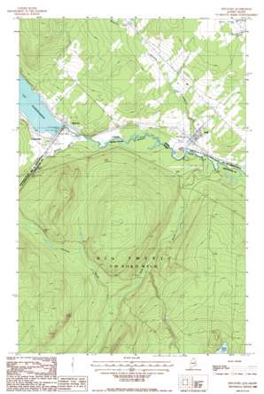 Estcourt topo map