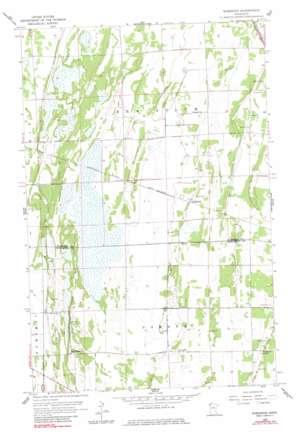 Rosewood topo map