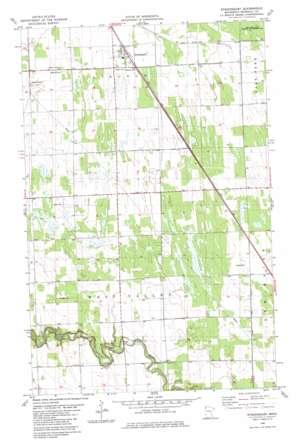 Strandquist USGS topographic map 48096d4