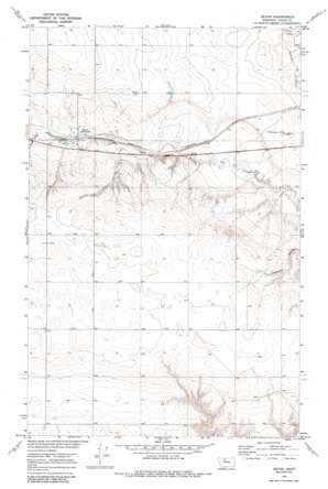 Devon topo map