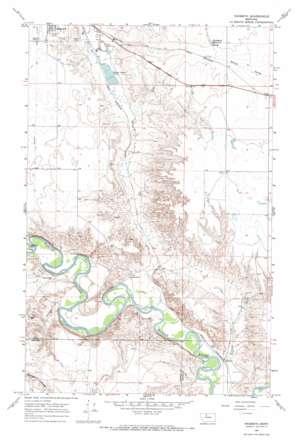 Naismith topo map