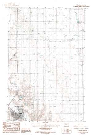 Shelby topo map